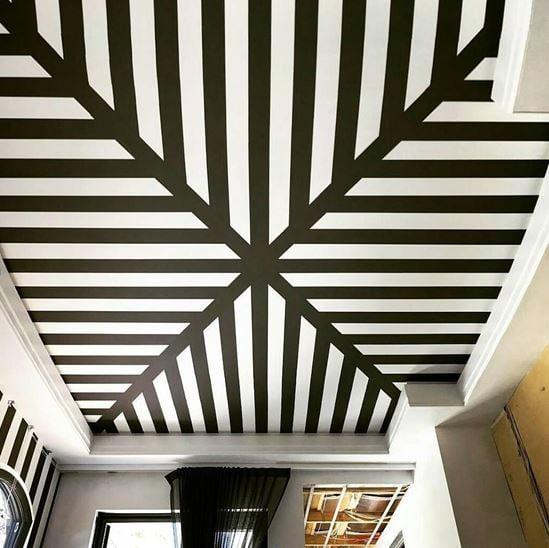 Choosing Wallcoverings For Ceilings