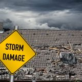 Will my insurance company cover me if my gutters have been damaged in a storm?